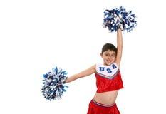 Cheerleader stock fotografie