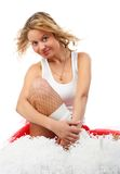 Cheerleader. Stock Image