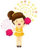 Cheerleader Stock Foto