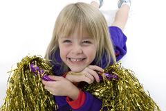 Cheerleader Royalty Free Stock Photography