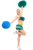 Cheerleader Stock Photo