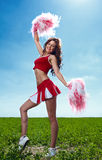 Cheerleader Stock Photography