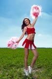 Cheerleader Stock Foto's