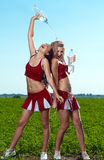 Cheerleader Royalty Free Stock Photo