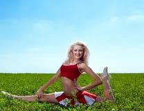 Cheerleader Royalty Free Stock Images
