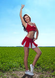 Cheerleader Royalty Free Stock Photos
