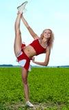 Cheerleader Stock Photography