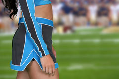 Cheerleader Royalty Free Stock Images