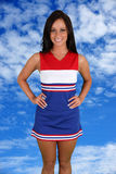 Cheerleader Stock Photo