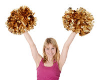 cheerleader Lizenzfreie Stockfotos
