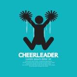 cheerleader Foto de archivo libre de regalías