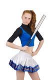 cheerleader Fotografía de archivo libre de regalías