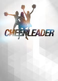 Cheerleader background Royalty Free Stock Photo
