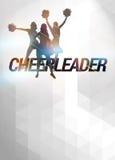 Cheerleader background Royalty Free Stock Photo