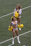 Cheerleader chums Stock Images