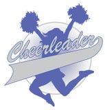Cheerleader Design Stockbilder