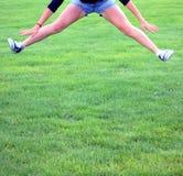 Cheerleader. Royalty Free Stock Image