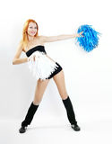 Cheerleader girl Royalty Free Stock Image