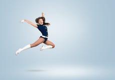 Cheerleader girl Stock Photography