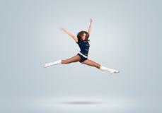 Cheerleader girl Royalty Free Stock Photo