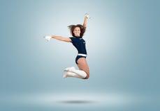 Cheerleader girl Stock Photo