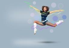 Cheerleader girl Royalty Free Stock Image
