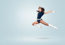 Cheerleader girl Stock Images