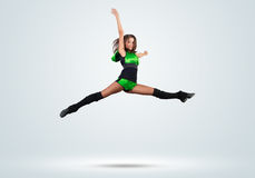 Cheerleader girl Royalty Free Stock Photography
