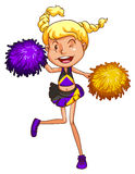 A cheerleader Stock Photos