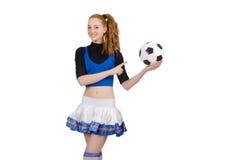 Cheerleader isolated Stock Photos