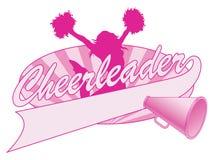 Cheerleader Jump Design vector illustratie