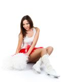 Cheerleader portrait. Stock Image