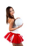 Cheerleader portrait. Stock Photography