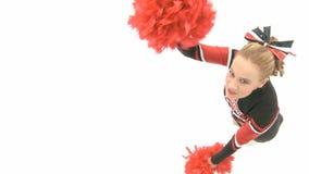 Cheerleader tanzt