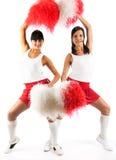 Cheerleadern Lizenzfreie Stockfotos