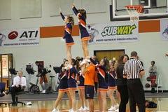Cheerleadern Stockfotografie