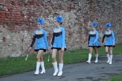 Cheerleadern Lizenzfreies Stockfoto