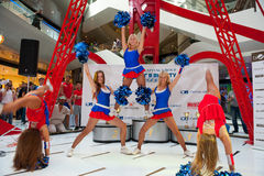 Cheerleaders Zdjęcia Royalty Free