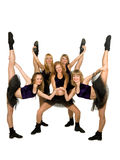 Cheerleaders Royalty Free Stock Images