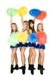 cheerleaders Fotografia Stock