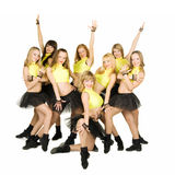 Cheerleaders Royalty-vrije Stock Foto