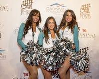 cheerleaders Fotografie Stock