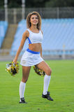 cheerleaders Photo libre de droits