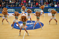 cheerleaders Foto de Stock