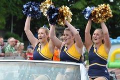 Cheerleaders Royalty Free Stock Images