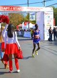 Cheerleaders eindigt Royalty-vrije Stock Afbeeldingen
