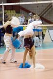 Cheerleaders. Groupe Dinamite Royalty Free Stock Images