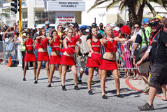 Cheerleaders Ironman South Africa 2011 Stock Photography