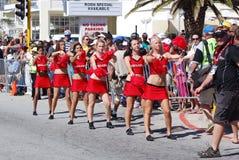 Cheerleaders Ironman Zuid-Afrika 2011 Stock Fotografie