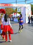 Cheerleaders koniec obrazy royalty free